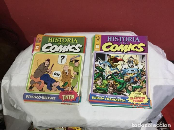 Cómics: COLECCION COMPLETA de la HISTORIA DE LOS COMICS . 48 números - Foto 10 - 242041850