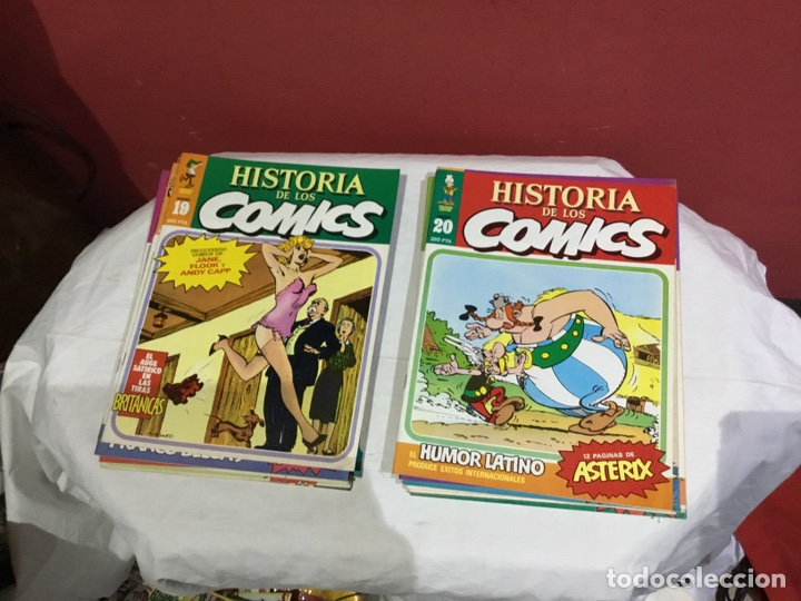 Cómics: COLECCION COMPLETA de la HISTORIA DE LOS COMICS . 48 números - Foto 11 - 242041850