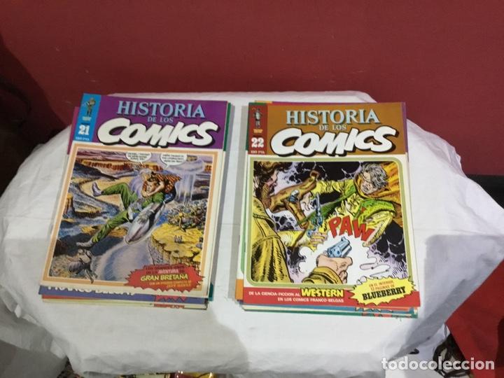 Cómics: COLECCION COMPLETA de la HISTORIA DE LOS COMICS . 48 números - Foto 12 - 242041850
