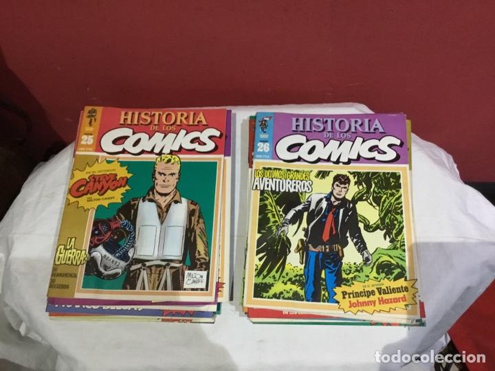 Cómics: COLECCION COMPLETA de la HISTORIA DE LOS COMICS . 48 números - Foto 14 - 242041850