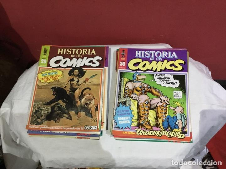 Cómics: COLECCION COMPLETA de la HISTORIA DE LOS COMICS . 48 números - Foto 16 - 242041850