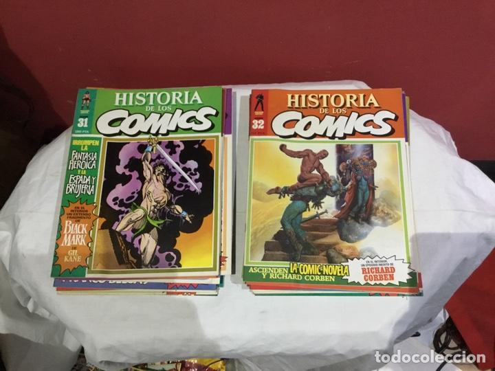 Cómics: COLECCION COMPLETA de la HISTORIA DE LOS COMICS . 48 números - Foto 17 - 242041850