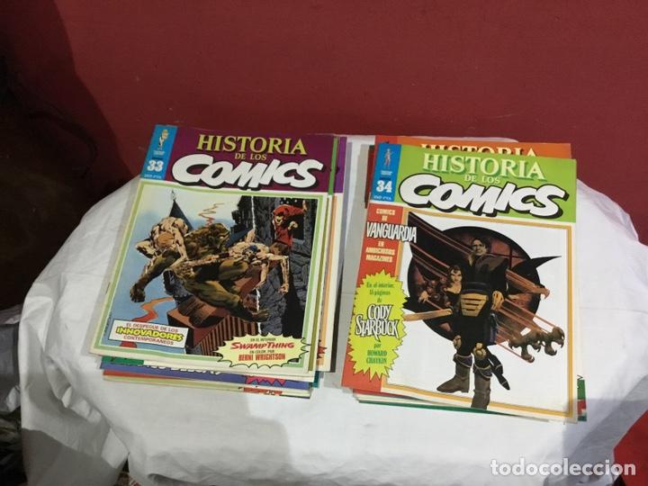 Cómics: COLECCION COMPLETA de la HISTORIA DE LOS COMICS . 48 números - Foto 18 - 242041850