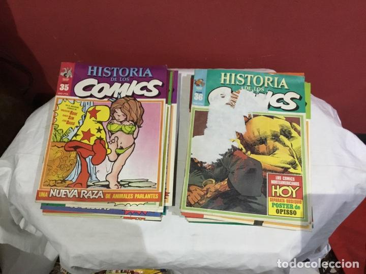 Cómics: COLECCION COMPLETA de la HISTORIA DE LOS COMICS . 48 números - Foto 19 - 242041850