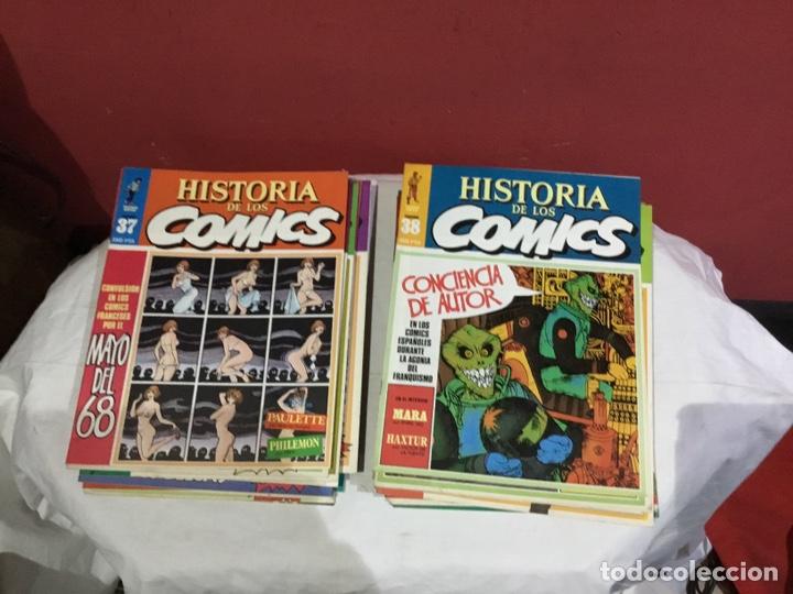 Cómics: COLECCION COMPLETA de la HISTORIA DE LOS COMICS . 48 números - Foto 20 - 242041850