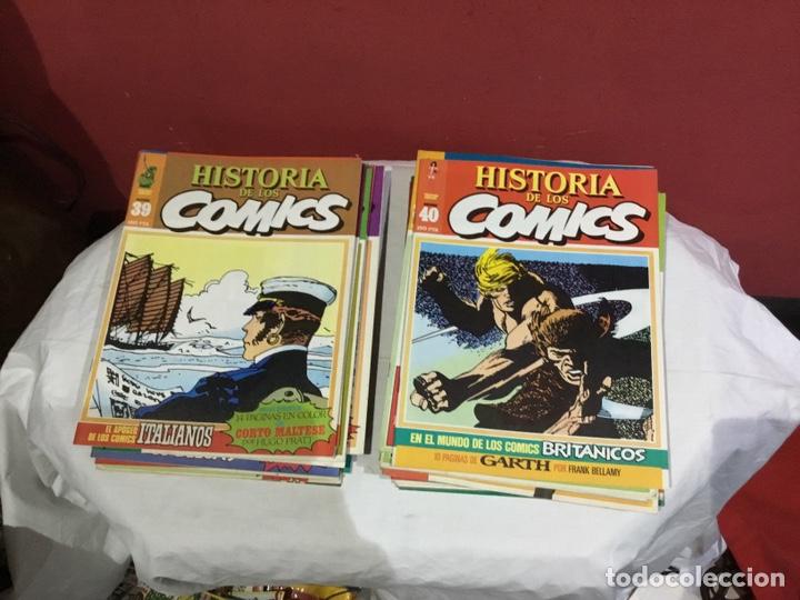 Cómics: COLECCION COMPLETA de la HISTORIA DE LOS COMICS . 48 números - Foto 21 - 242041850