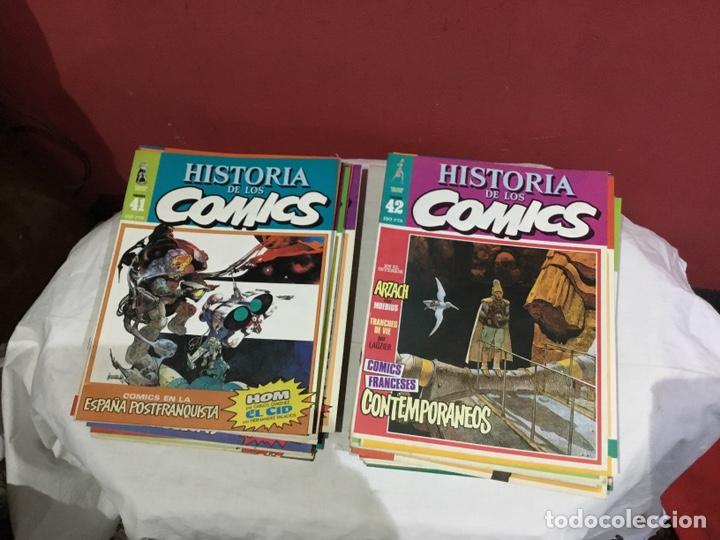 Cómics: COLECCION COMPLETA de la HISTORIA DE LOS COMICS . 48 números - Foto 22 - 242041850