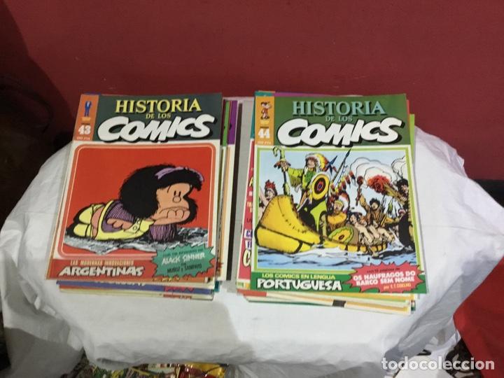 Cómics: COLECCION COMPLETA de la HISTORIA DE LOS COMICS . 48 números - Foto 23 - 242041850