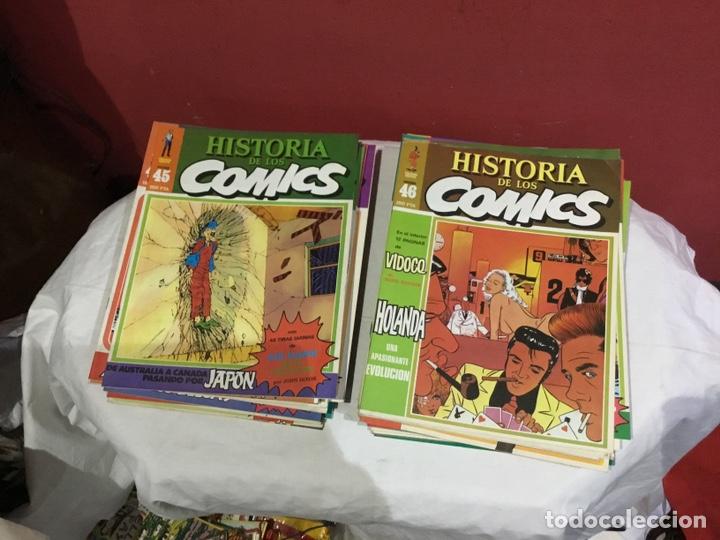 Cómics: COLECCION COMPLETA de la HISTORIA DE LOS COMICS . 48 números - Foto 24 - 242041850