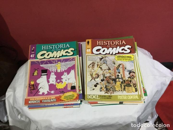 Cómics: COLECCION COMPLETA de la HISTORIA DE LOS COMICS . 48 números - Foto 25 - 242041850
