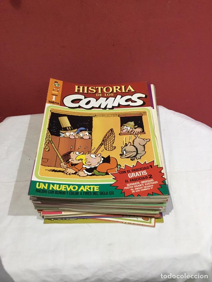 COLECCION COMPLETA DE LA HISTORIA DE LOS COMICS . 48 NÚMEROS (Tebeos y Comics - Toutain - Otros)