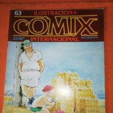 Cómics: COMIX INTERNACIONAL. Nº 63. TOUTAIN EDITOR.. Lote 242257825