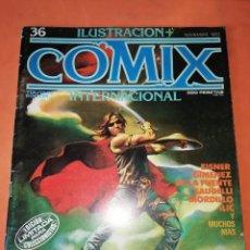 Cómics: COMIX INTERNACIONAL. Nº 36. TOUTAIN EDITOR.. Lote 242258540