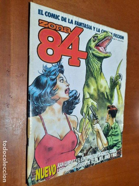ZONA 84 66. REVISTA. GRAPA. BUEN ESTADO.PERO UN POCO ARRUGADA POR ARRIBA (Tebeos y Comics - Toutain - Zona 84)