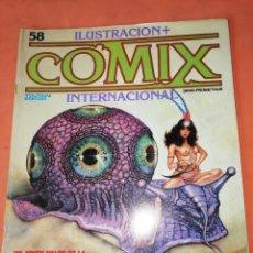 Cómics: COMIX INTERNACIONAL. Nº 58. TOUTAIN EDITOR.. Lote 242459390