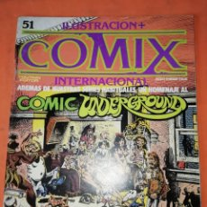 Cómics: COMIX INTERNACIONAL. Nº 51. TOUTAIN EDITOR.. Lote 242462770
