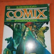 Cómics: COMIX INTERNACIONAL. Nº 62. TOUTAIN EDITOR.. Lote 242466610