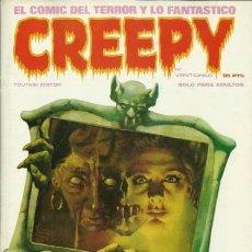 Cómics: CREEPY-TOUTAIN- Nº 25 -LA PRIMERA PUBLICACIÓN MUNDIAL DE TERROR-1981-J.ORTIZ-BERMEJO-MAROTO-LEA-4321. Lote 242819745