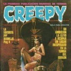Cómics: CREEPY-TOUTAIN- Nº 4 -LA PRIMERA PUBLICACIÓN MUNDIAL DE TERROR-1979-CORBEN-AURALEÓN-BERMEJO-LEA-4322. Lote 242956260