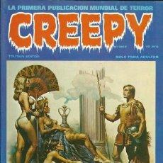 Cómics: CREEPY-TOUTAIN- Nº 10 -LA PRIMERA PUBLICACIÓN MUNDIAL DE TERROR-1980-CORBEN-W.WOOD-AURALEÓN-LEA-4323. Lote 242959650