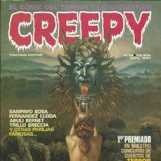 Cómics: CREEPY-TOUTAIN- Nº 58 -LA PRIMERA PUBLICACIÓN MUNDIAL DE TERROR-1984-AURALÉON-SOSA-BOIX-LEA-4330. Lote 243054845
