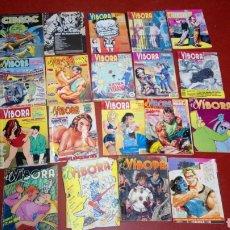 Fumetti: LOTE 17 EL VIBORA 1 CIMOC 1 CREEPY DIFERENTES ESTADOS ALGUNOS INCOMPLETOS VER FOTOS Y DESCRIPCIÓN. Lote 243203515