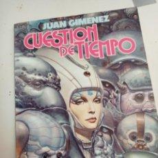Comics: X CUESTION DE TIEMPO, DE JUAN GIMENEZ (TOUTAIN). Lote 243380530