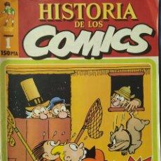 Cómics: HISTORIA DE LOS COMICS Nº 1 - TOUTAIN. Lote 243518910