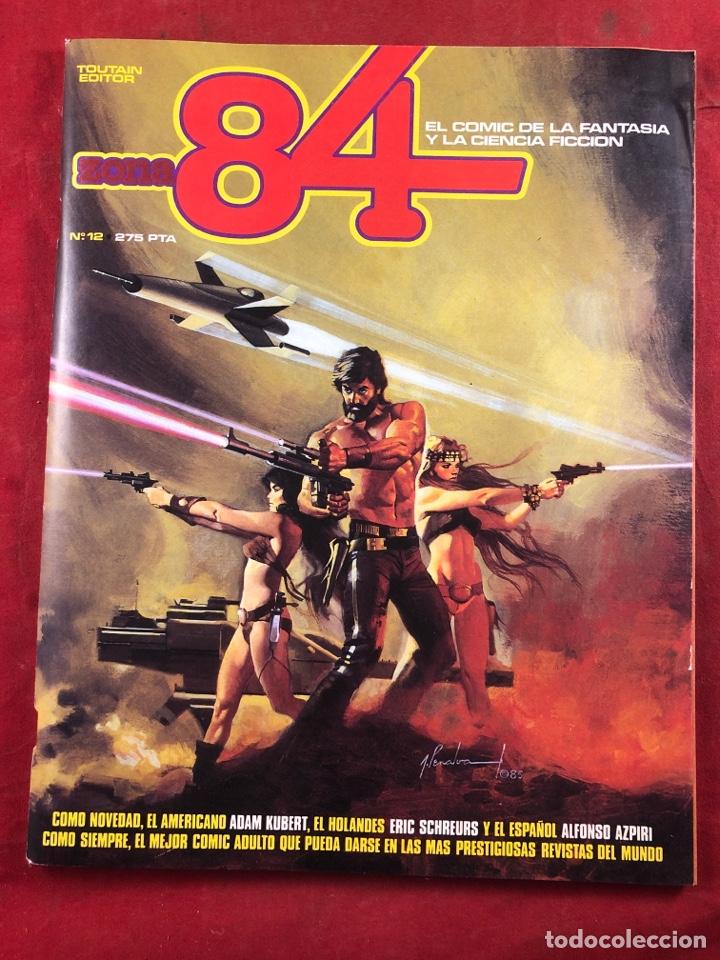 ZONA 84 NÚMERO 12 (Tebeos y Comics - Toutain - Zona 84)
