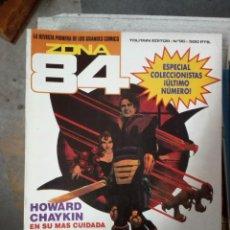 Fumetti: ZONA 84 Nº 96 (ÚLTIMO NÚMERO). Lote 243828690