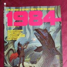 Cómics: 1984. Nº 4. TOUTAIN. 1979. 1ª EDICIÓN. 75 PTS.. Lote 244435935