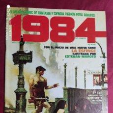 Cómics: 1984. Nº 5. TOUTAIN. 1979. 1ª EDICIÓN. 75 PTS.. Lote 244438830