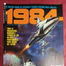 Cómics: 1984. Nº 6. TOUTAIN. 1979. 1ª EDICIÓN. 75 PTS.. Lote 244439480