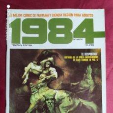 Cómics: 1984. Nº 7. TOUTAIN. 1979. 1ª EDICIÓN. 75 PTS.. Lote 244439880