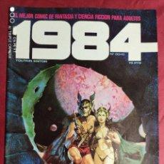 Cómics: 1984. Nº 8. TOUTAIN. 1979. 1ª EDICIÓN. 75 PTS.. Lote 244440145