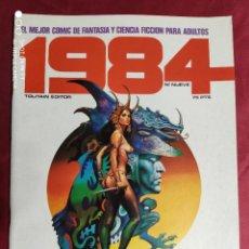 Cómics: 1984. Nº 9. TOUTAIN. 1979. 1ª EDICIÓN. 75 PTS.. Lote 244440405