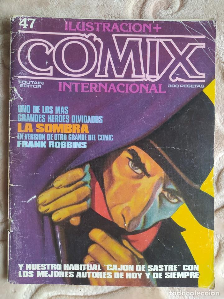 COMIX INTERNACIONAL - NÚMERO 47 - ILUSTRACIÓN+ - TOUTAIN EDITOR - EGEDSA (Tebeos y Comics - Toutain - Comix Internacional)