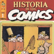 Cómics: HISTORIA DE LOS COMICS - TOUTAIN - FASCICULO Nº 1. Lote 245261645