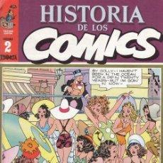 Cómics: HISTORIA DE LOS COMICS - TOUTAIN - FASCICULO Nº 2. Lote 245261765