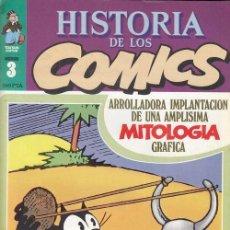 Cómics: HISTORIA DE LOS COMICS - TOUTAIN - FASCICULO Nº 3. Lote 245261915