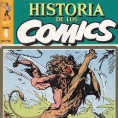 Cómics: HISTORIA DE LOS COMICS - TOUTAIN - FASCICULO Nº 4. Lote 245262035