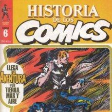 Cómics: HISTORIA DE LOS COMICS - TOUTAIN - FASCICULO Nº 6. Lote 245262230