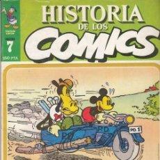 Cómics: HISTORIA DE LOS COMICS - TOUTAIN - FASCICULO Nº 7. Lote 245262365