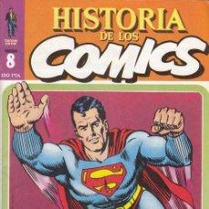 Cómics: HISTORIA DE LOS COMICS - TOUTAIN - FASCICULO Nº 8. Lote 245262555