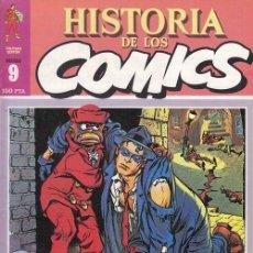 Cómics: HISTORIA DE LOS COMICS - TOUTAIN - FASCICULO Nº 9. Lote 245262625