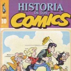 Cómics: HISTORIA DE LOS COMICS - TOUTAIN - FASCICULO Nº 10. Lote 245262750