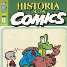 Cómics: HISTORIA DE LOS COMICS - TOUTAIN - FASCICULO Nº 11. Lote 245262815