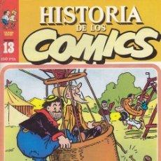 Cómics: HISTORIA DE LOS COMICS - TOUTAIN - FASCICULO Nº 13. Lote 245263000