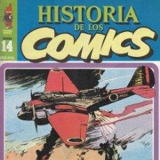 Cómics: HISTORIA DE LOS COMICS - TOUTAIN - FASCICULO Nº 14. Lote 245263240