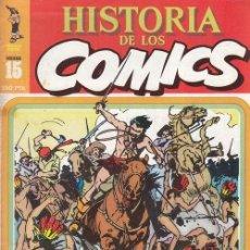Cómics: HISTORIA DE LOS COMICS - TOUTAIN - FASCICULO Nº 15. Lote 245263310